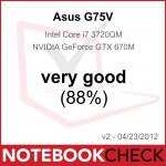 Asus G75V